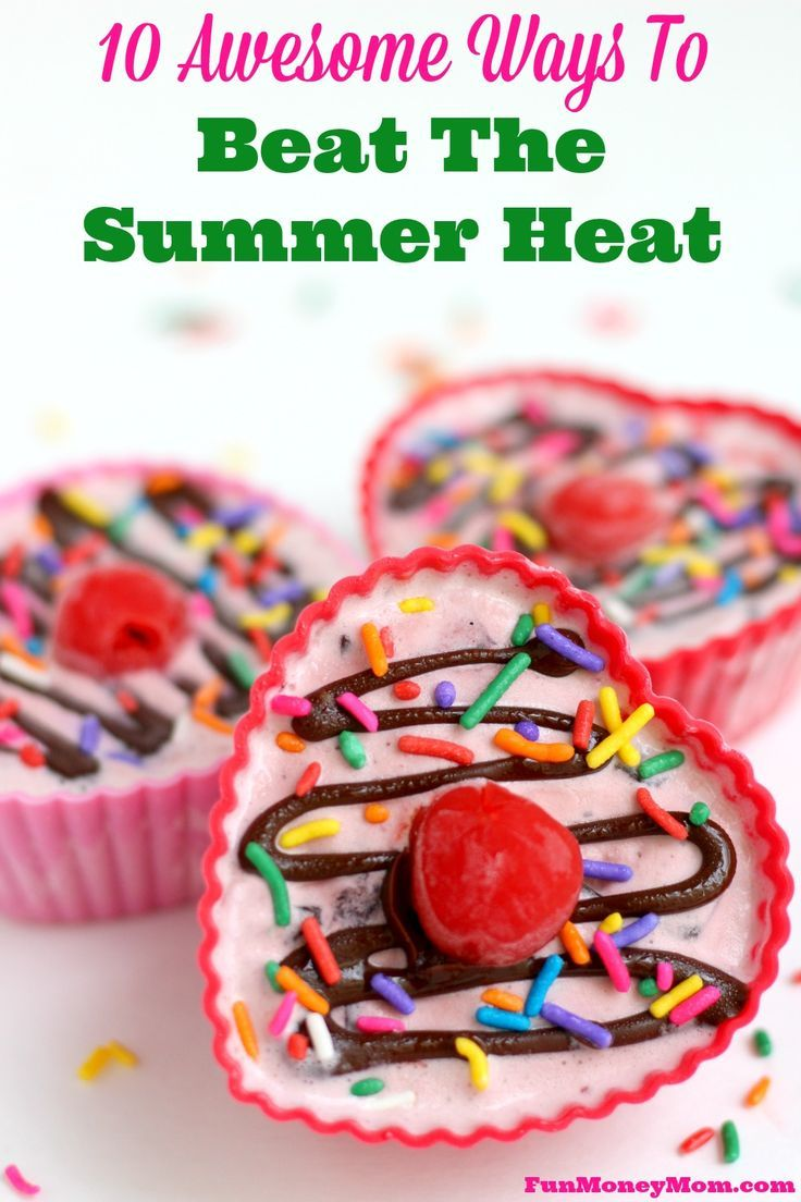Looking for some fun ways to beat the summer heat? The kids will have a blast with these awesome water activities and the entire family will love this delicious ice cream recipe! @Walmart @blue_bunny #SoHoppinGood #ad
