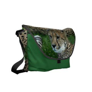 Spotted Cheetah Messenger Bag