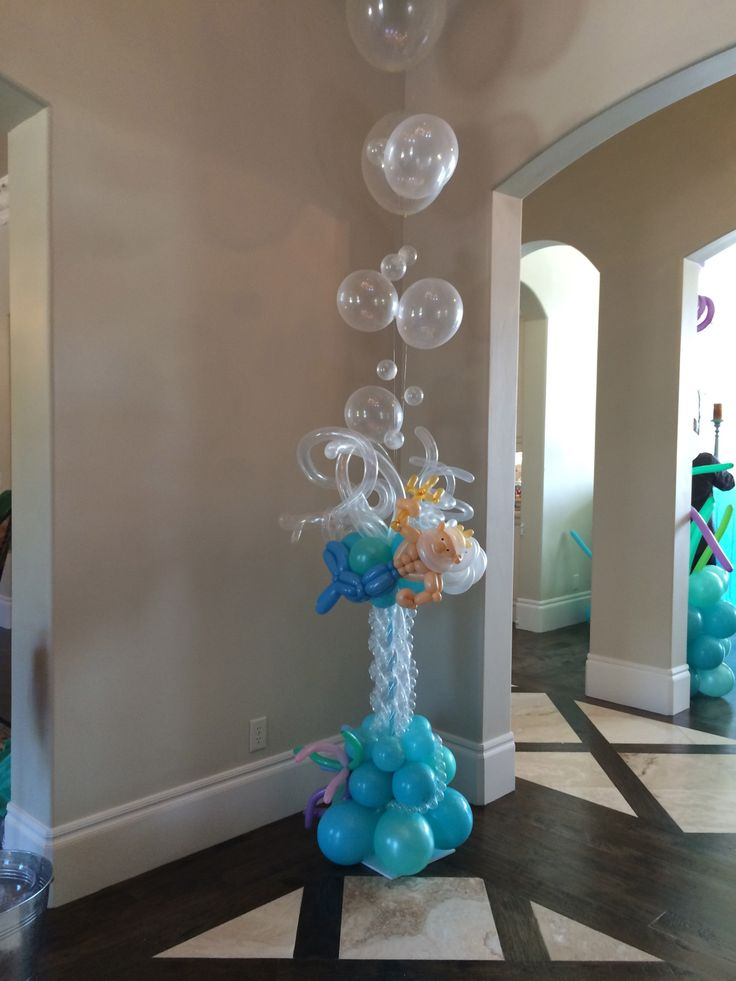 36 Best Images About Under The Sea Balloon Theme Party On