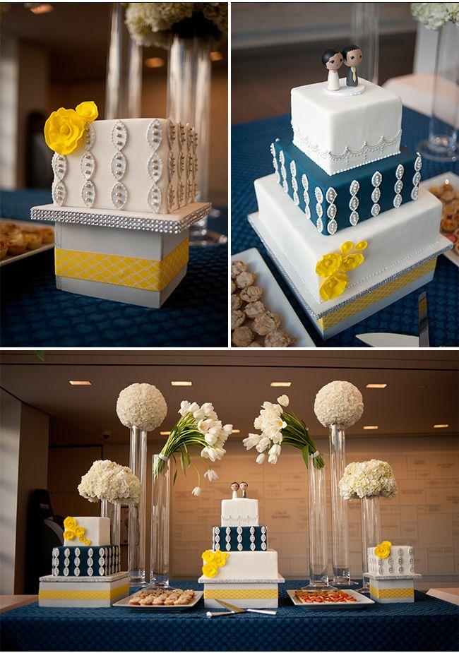 Modern Wedding Ideas   A Sacramento Wedding At The Crocker Art Museum With  Navy Blue And