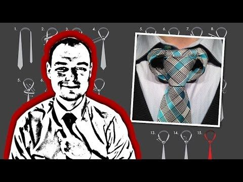 """How to Tie the Linwood Taurus Necktie Knot   Weird but good looking, complicated and an absolute must in the future! The knot that started whole """"How to tie a tie"""" pin flood on my board."""