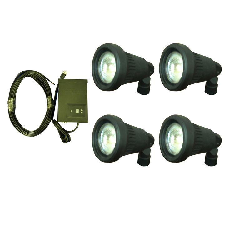Shop Portfolio Halogen Plug-in Spot Light Kit at Lowes.com