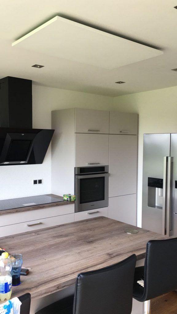 Infrarotheizung Deckenmontage Küche