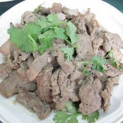 Moo tord (pork loin fried with black pepper, garlic and coriander root) @ allrecipes.asia