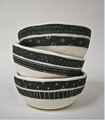 Beautiful bowls by Rae Dunn