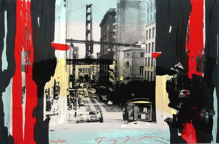 Tram in San Francisco by Tony Soulie