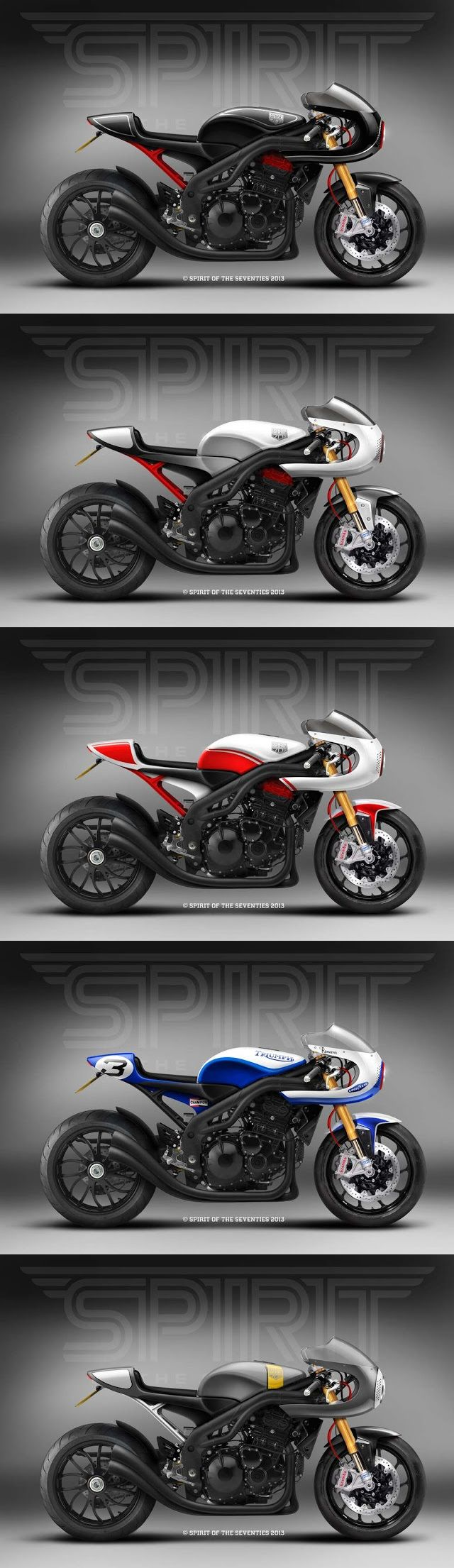 Speed Triple Racer concept