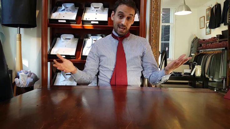 Hoe knoop ik een stropdas? / Hoe strik ik een stropdas?  - De Oriental / Mandarin Knoop.  Jean-Paul Samson, eigenaar van De Oost Bespoke Tailoring in Amsterdam, legt uit hoe je een stropdas knoopt/strikt op de zogenaamde Mandarin of Oriental manier. Of in zijn woorden; de ''kostschool'' manier.  www.deoost.nl  #Stropdas #Tie #Howto