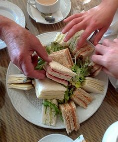 Best sandwich and tea sandwich recipes. Lots of favorite to unusual regional sandwiches that range from the American hamburger to the Walleye sandwich.