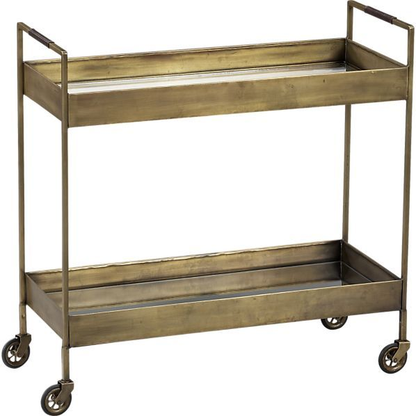 Libations Bar Cart  | Crate and Barrel