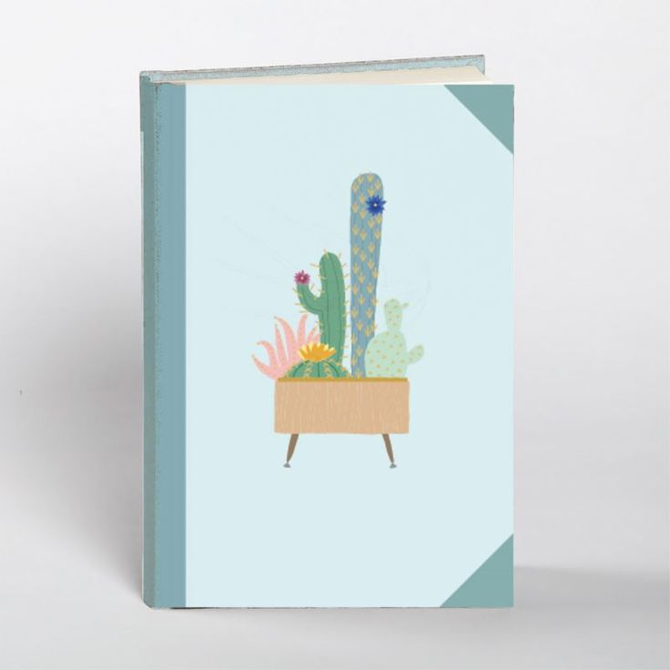 Hardback Book - Cactus at Evans and Hall