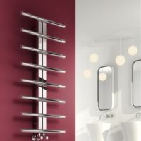 Reina Pizzo Stainless Steel Radiator - Electric - Polished