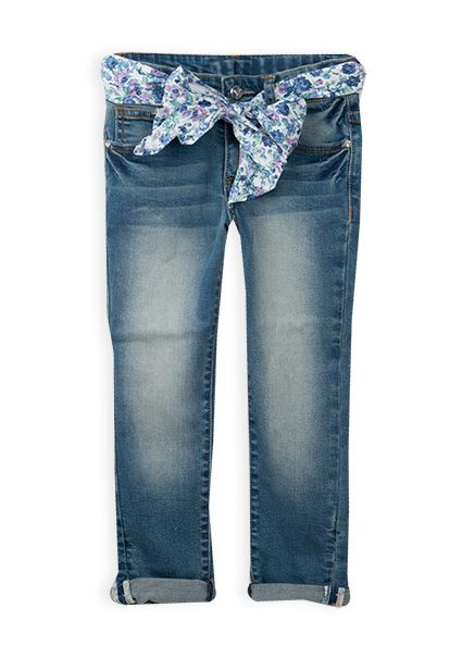 Pumpkin Patch - denim turn up jeans - 5 to 12 years #pumpkinpatchkids #denim #floral