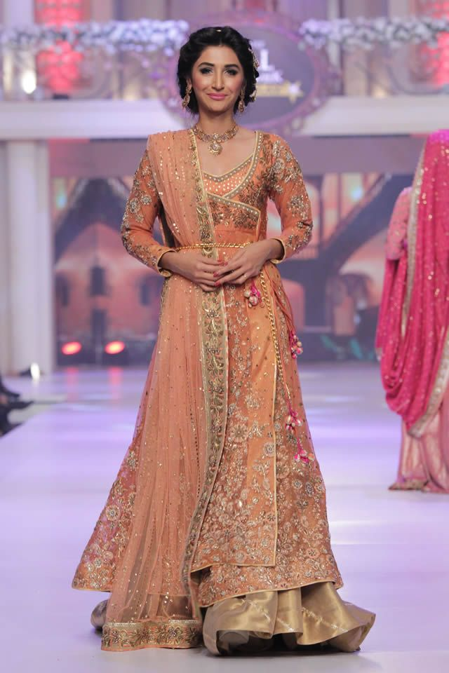 Telenor Bridal Couture Week 2015 Ayesha Ibrahim Bridal Colleciton