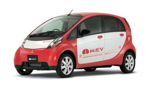 #Mitsubishi #i-Miev. El minicoche totalmente eléctrico económico y ecológico.