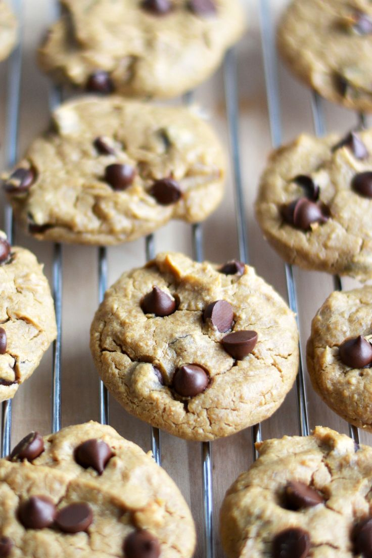 Best Chickpea Chocolate Chip Cookies Vegan Gluten-Free 2