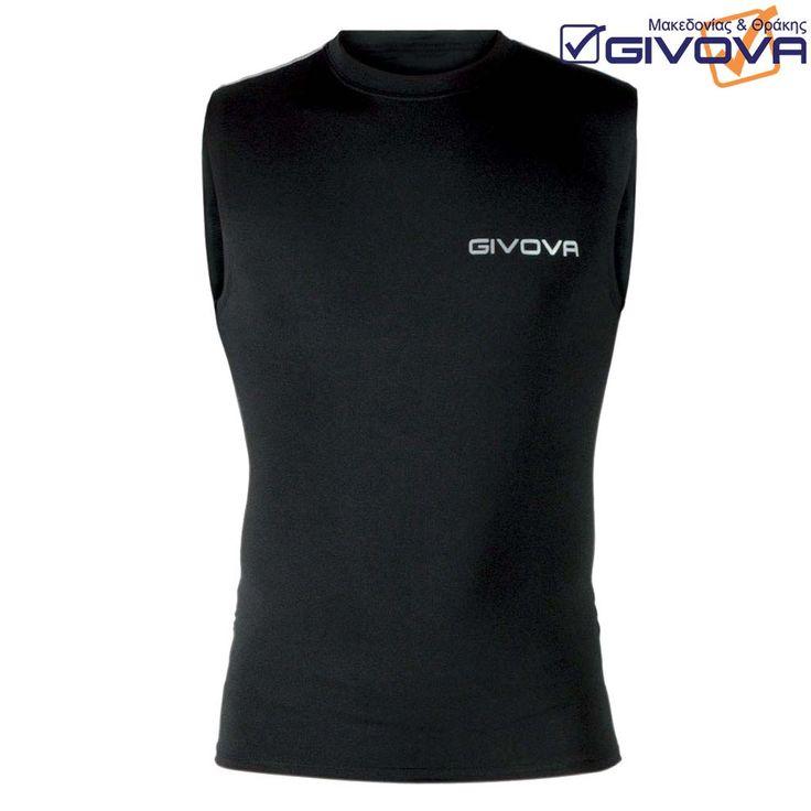 Corpus 1 Αμάνικο μπλουζάκι από συνθετικές ελαστικές ίνες και πολυεστέρα με τυπωμένο λογότυπο, ανάλογο της απαιτούμενης ελαστικότητας. Εξασφαλίζεται η καλύτερη δυνατή ελαστικότητα και η ελευθερία κίνησης.