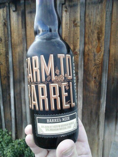 Almanac Brewing Co. Farm to Barrel Barrel Noir