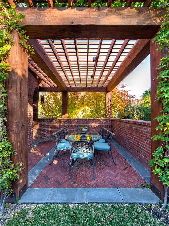 Patio Brick Patio Design, Pictures, Remodel, Decor And Ideas   Page 15