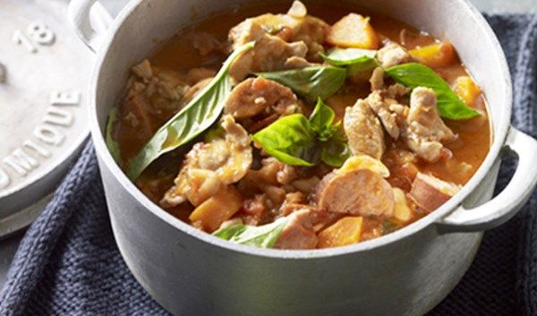 FRENCH CHICKEN AND CHORIZO CASSOULET