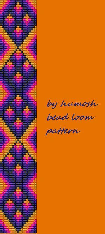 ethnic bead loom pattern                                                       …