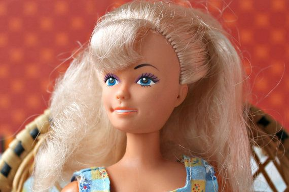 Vintage 1980s Barbie Size Clone Fashion by DollEnthousiastHome
