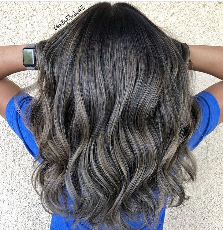 Natural Ash Blonde Ash Brown Hair Balayage Natural Gray Hair Medium Brown Hair