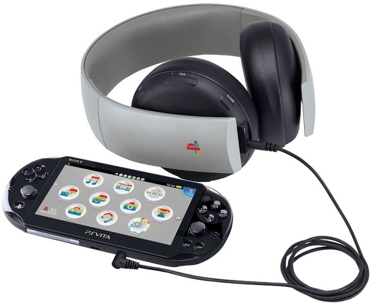 PlayStation Gold Wireless Stereo Headset - 20th Anniversary Edition