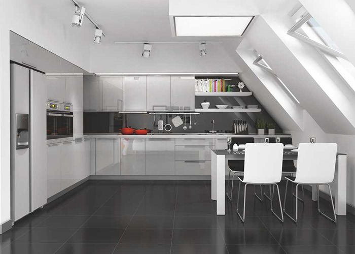 Çizilmez Acrylic Kapak 1306 Metalik Gri Renk  #mutfak #mutfakmodelleri #acrylic #acrylickapak #acrylicmutfak #kitchen #kitchendesign