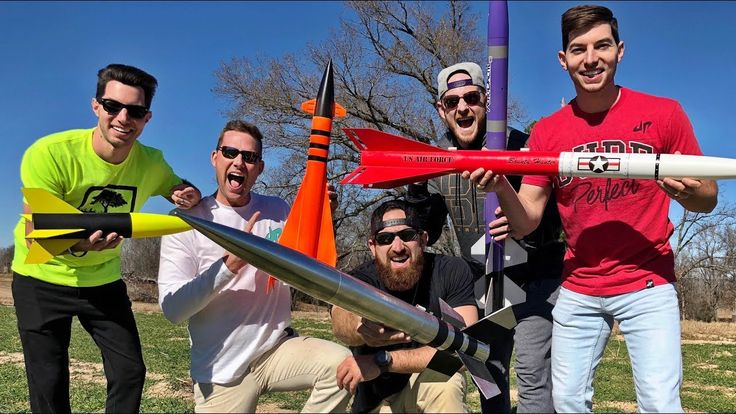 Model Rocket Battle | Dude Perfect WATCH THIS EPIC VIDEO BY DP