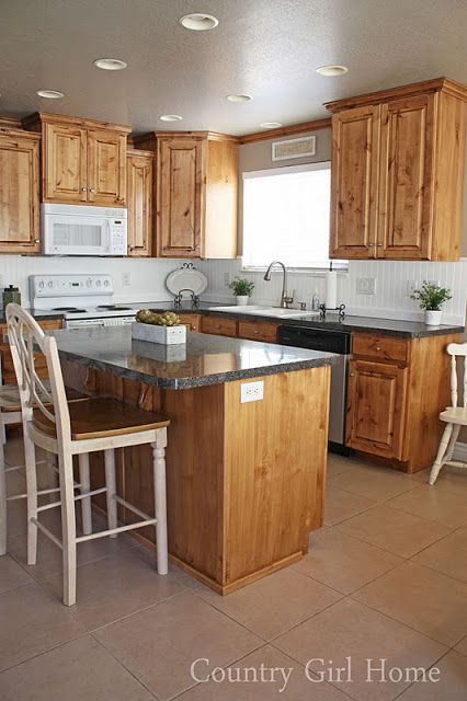 COUNTRY GIRL HOME I Like The Country Look But Counter Tops Keeps It Feeling A Little Modern Too