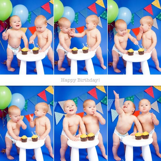 twins-first-birthday
