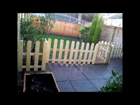 Free Fence From Old Pallets - YouTube