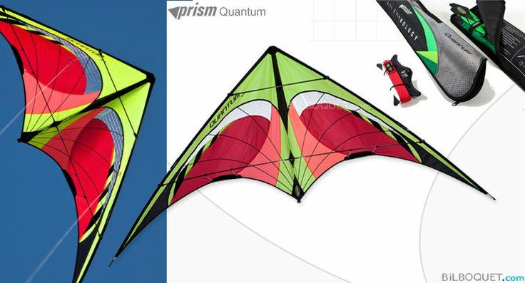 Quantum Prism Kites - Cerfs-volants pilotables 2 lignes - Cerf-volant acrobatique - Prism Kites - 110€ - Frais de port offerts