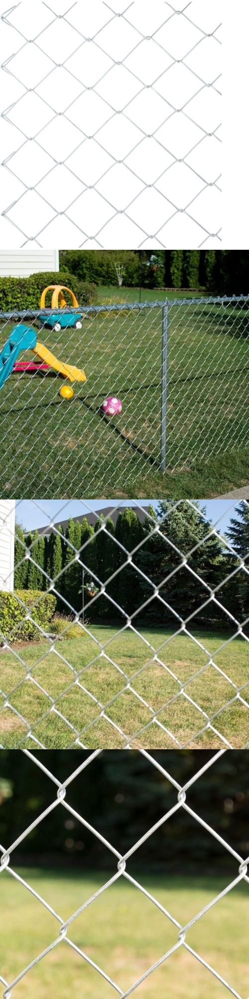 Privacy screen for chain link fence ebay - Chain Link Fencing 180984 Yardgard 5 Ft X 50 Ft 11 5 Gauge