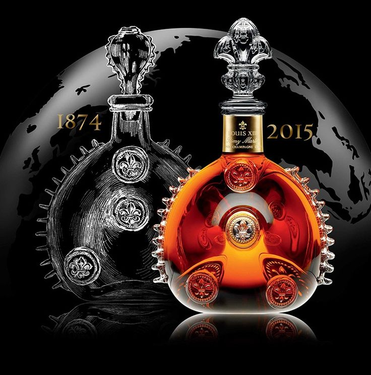 LOUIS XIII cognac is one Century in a bottle. Each decanter takes four generations of cellar masters over 100 years to craft.