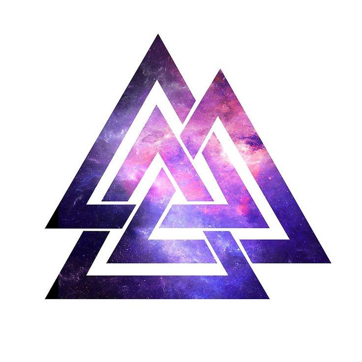 Trippy Infinity Triangle Art Print By Gamerz123 In 2019