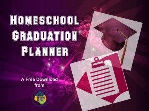Free downloadable homeschool graduation planner and checklist