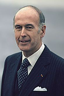 Valéry Giscard d'Estaing, 1926 former French pres.