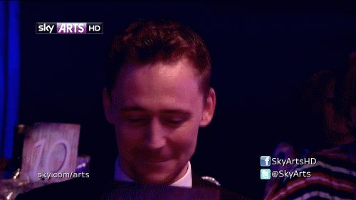 """His reaction on being called """"World's Hottest Actor"""". Sweet Lord, I'm gonna cry. You little shit!"""