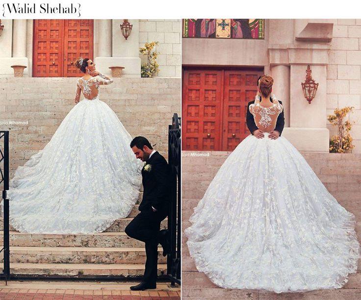 os 100 vestidos de noiva modelo princesa mais lindos de todos os tempos! WWW.REVISTAMARIEE.COM.BR