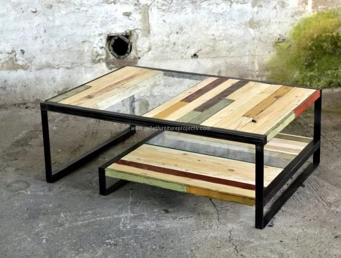 Cute Wooden Pallet Coffee Table