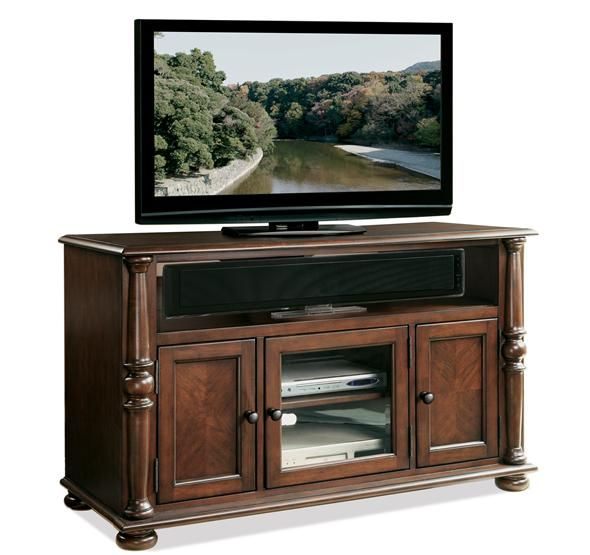 50 Inch Entertainment Center Part - 47: 65644 In By Riverside In Johnstown, NY - Dunmore 50-Inch TV Console Upland  · Cherry FinishTv ConsolesEntertainment Centers