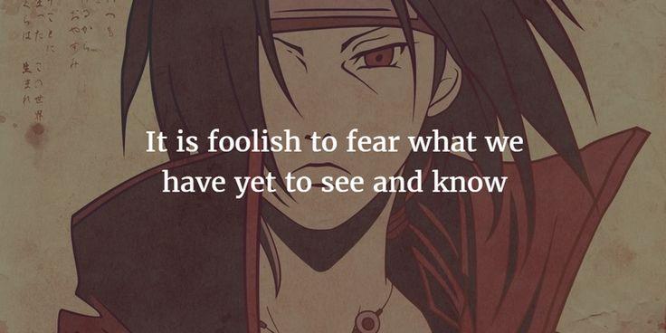 25 Best Quotes from Itachi Uchiha in Naruto Shippuden ...