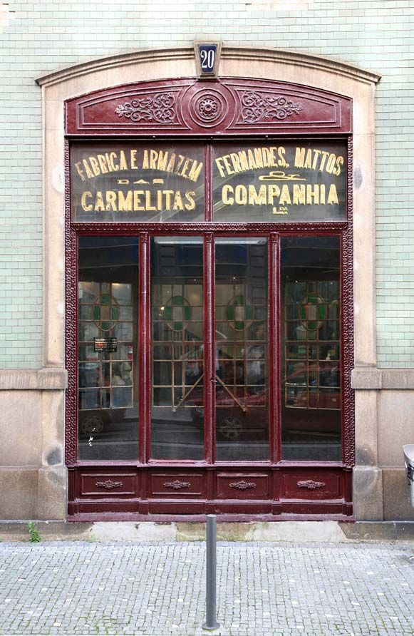 One of Porto's many wonderful old world shops: from traditional sweets to traditional home and hygiene products, all can be found here.