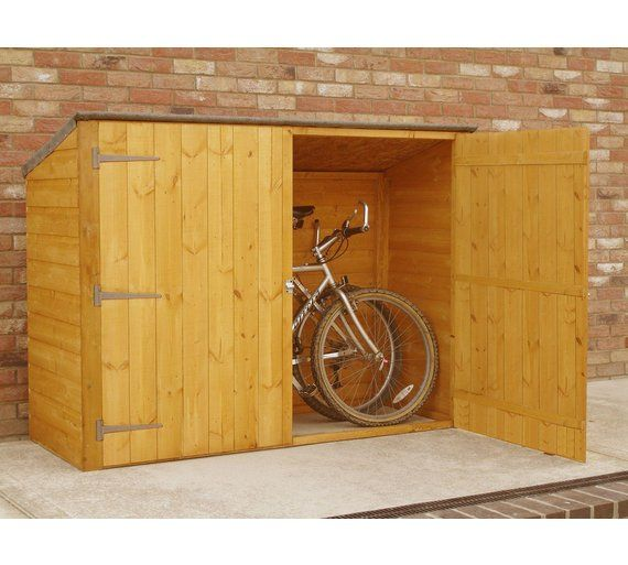 Buy Homewood Bike Store 6 x 2ft at Argos.co.uk, visit Argos.co.uk to shop online for Garden storage boxes and cupboards, Conservatories, sheds and greenhouses, Home and garden