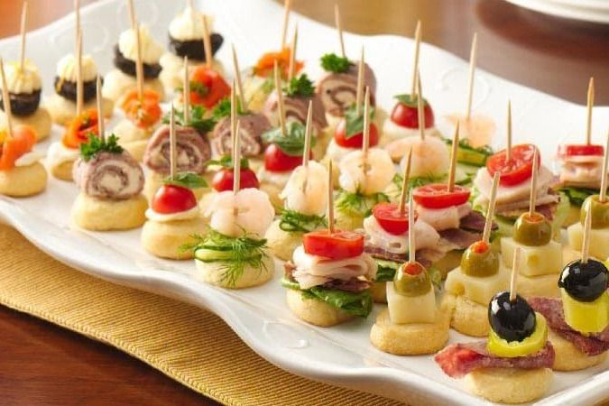 Appetizers Hors D Oeuvres We Will Make Them Hot And Cold Smooth