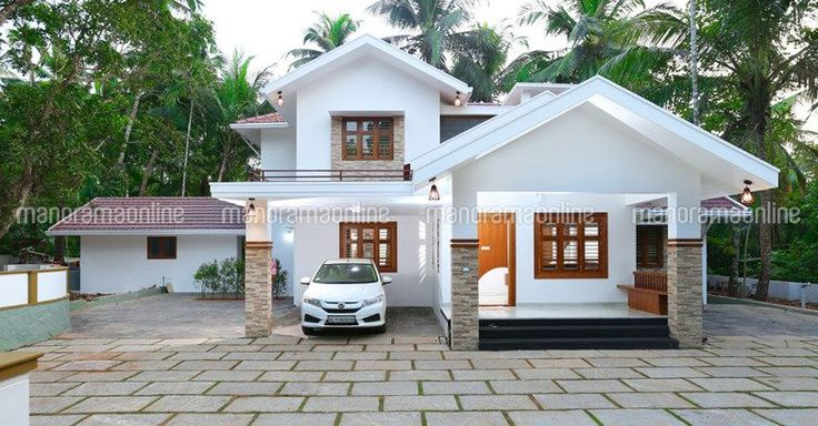 Latest Model 4 Bedroom Contemporary House Elevation In