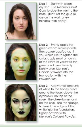 """Mehron Theatre Makeup and Supplies, Professional Theatrical and Stage Makeup, Character Kits"""""""