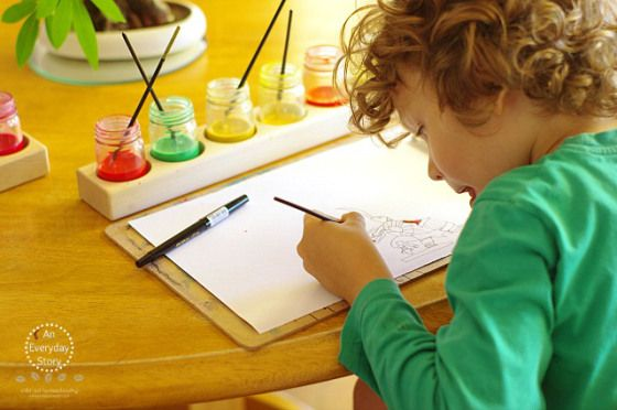 Reggio Homeschool Planning - An Everyday Story